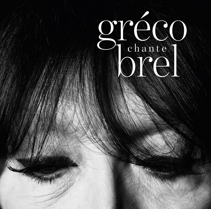Couverture de l'album Juliette Gréco chante Brel.